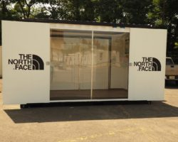 The Northface Shipping Container Modification