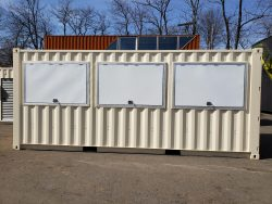 Custom Shipping container modification