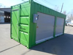 Shipping Container pop up shop