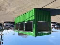 Shipping Container modified store