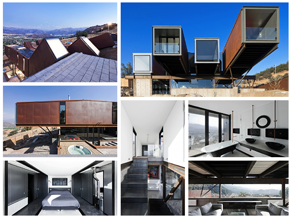 Stunning Shipping Container House