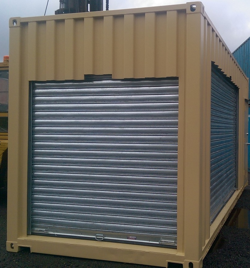 Heavy Duty Roll-up Doors (2)