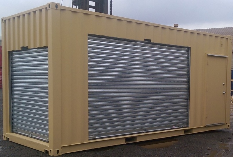 Heavy Duty Roll-up Doors