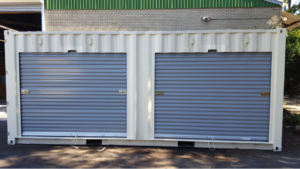 shipping container rollup doors