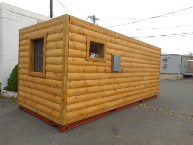 Log Cabin Shipping Container