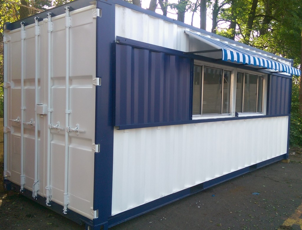 Shipping Container House >> Container Pop Up Shop | Portable Concession Stands