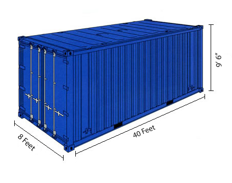 new 40 foot shipping containers for sale integrated equipment sales. Black Bedroom Furniture Sets. Home Design Ideas