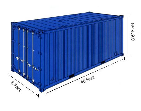 40 Foot Container 1