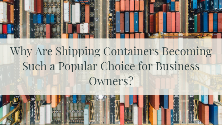 Shipping Containers for your business
