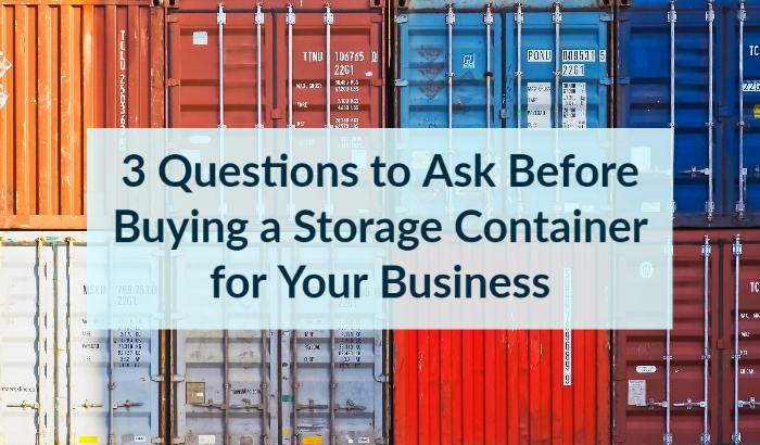 storage containers in New Jersey