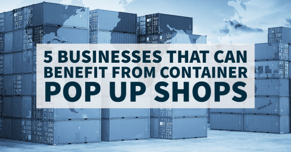 Container Pop Up Shops