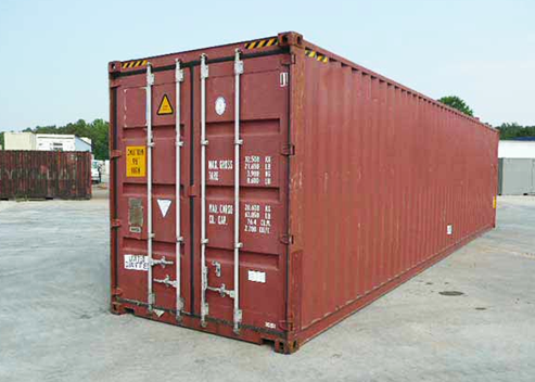 40 Foot High Cube Storage Container
