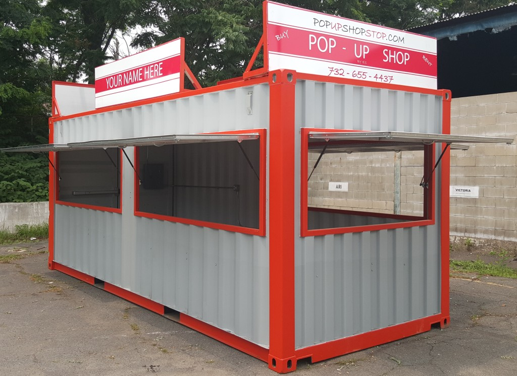 Cargo Trucks For Sale >> Container Pop Up Shop | Portable Concession Stands